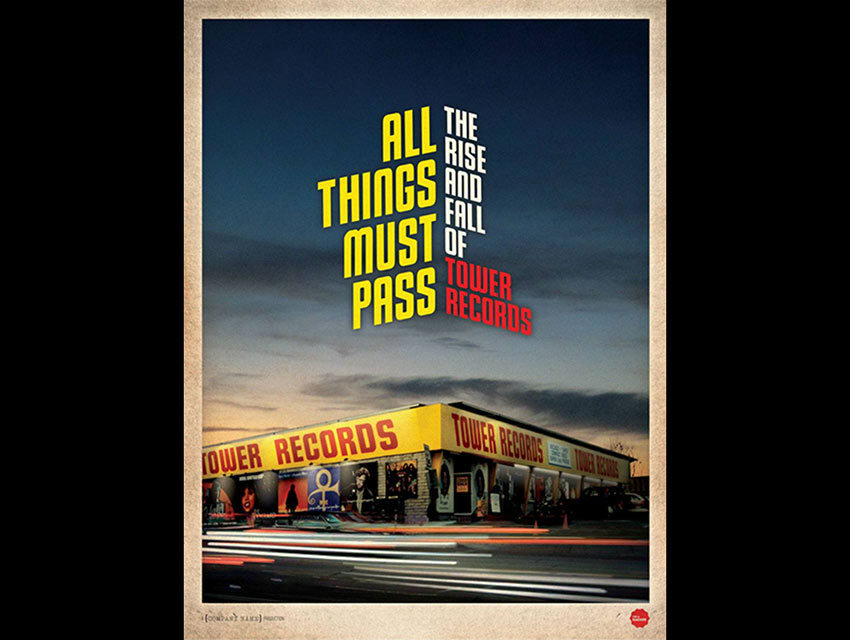 "The poster art for ""All Things Must Pass"""