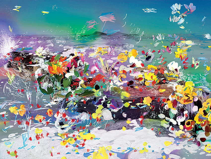 Work by Petra Cortright