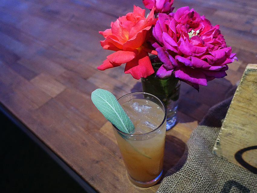 Xanadu Draft Cocktail at Outstanding in the Field