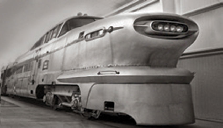 """I modeled the Viewliner after the General  Motors Train of Tomorrow, which ran from Los Angeles to  Las Vegas. It wasn't very successful, but it sure was good-looking!"""