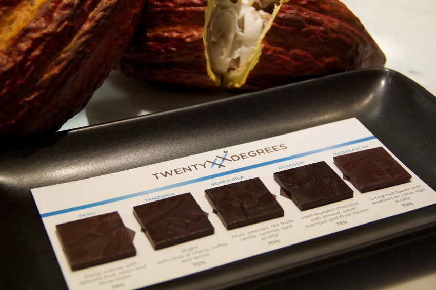 Get an around-the-world chocolate tasting at Hexx.