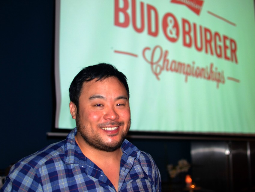 David Chang isn't shy about his love for Bud.