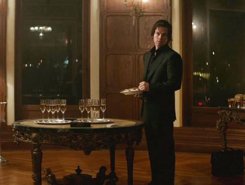 "Mark Wahlberg in a screen capture from ""The Gambler"""