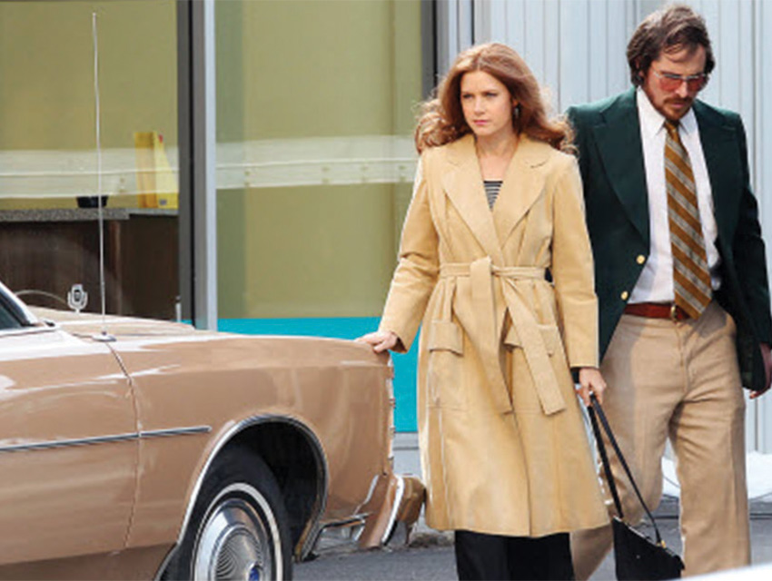 Moving fast on American Hustle. During postproduction, the Exceptional Minds team digitally tweaked the colors of several cars from red to beige