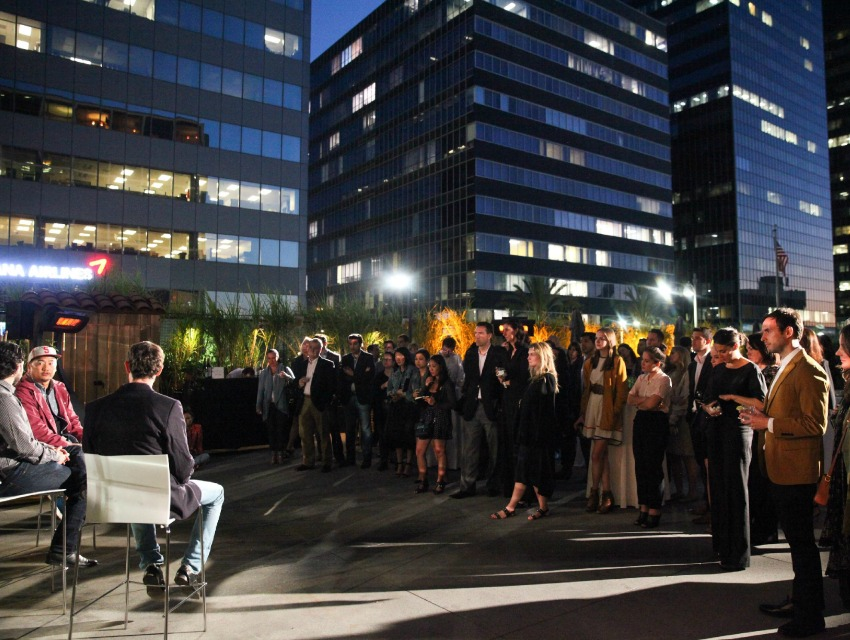 The WSJ. magazine panel with Roy Choi and Daniel Patterson drew a crowd in Koreatown.