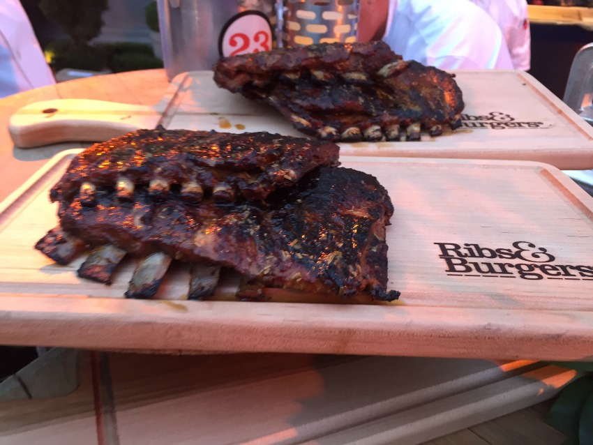 These lamb ribs dazzled the crowd at Saturday's Grand Tasting.