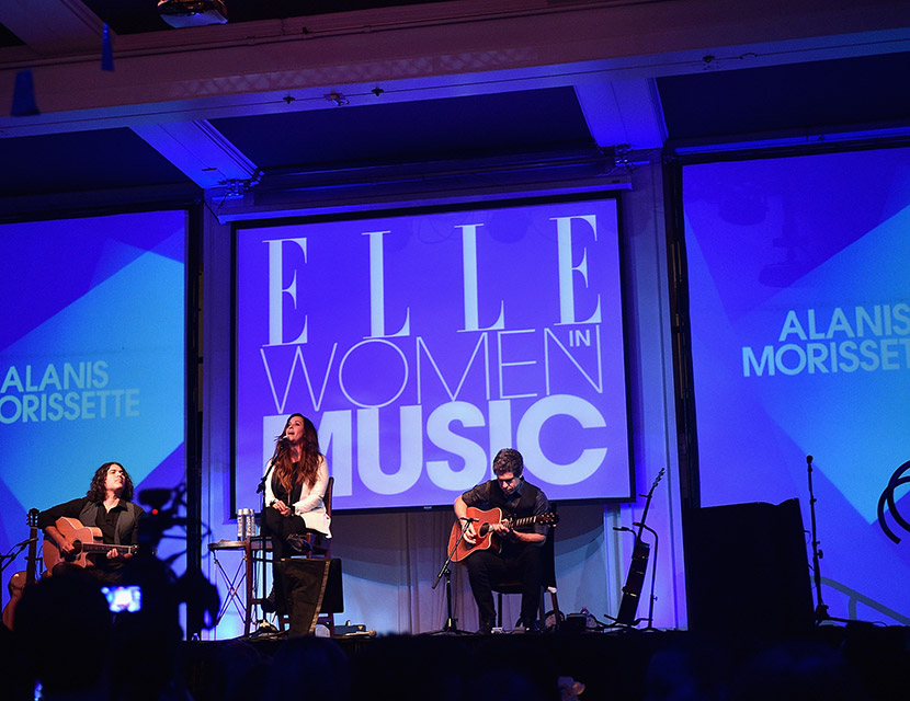 Alanis Morissette Banks And Tinashe Rock Out In Style At Elle S