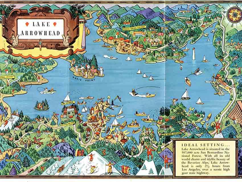 Lake Arrowhead, R. Winters, c. 1925