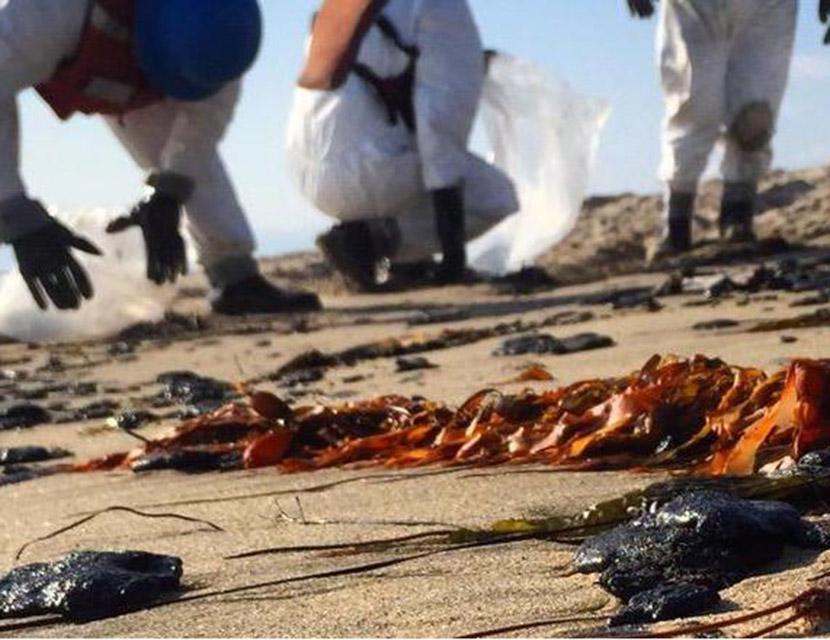 oil spill in Santa Barbara