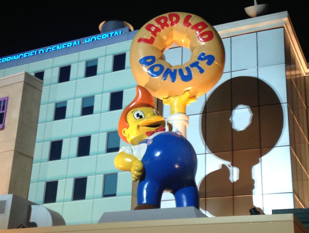 New Simpsons World at Universal Studios