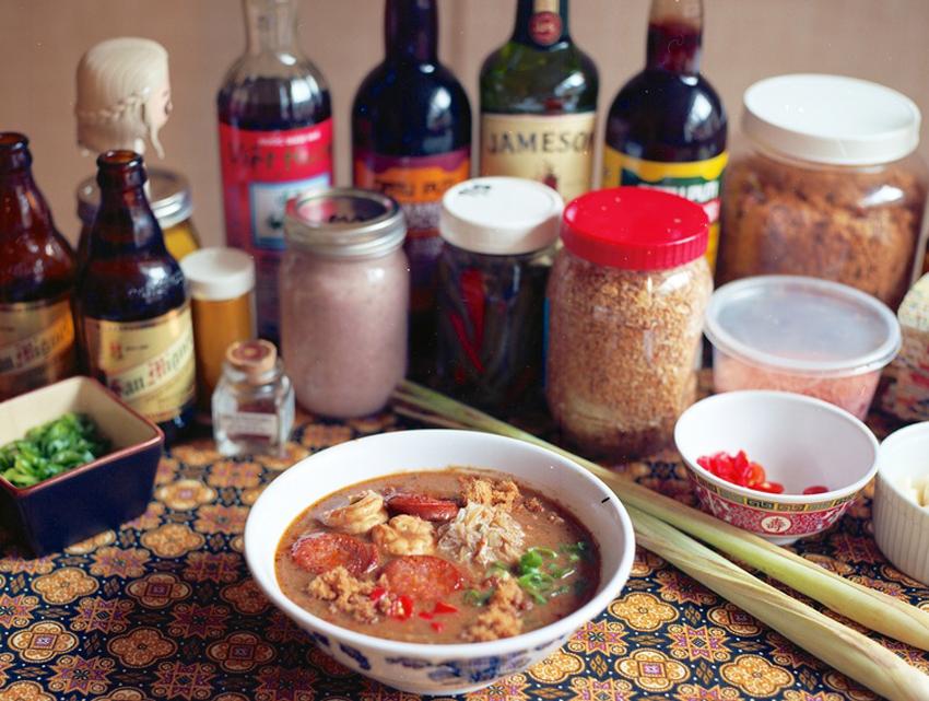 Food & Sh*t's Bagoong Shrimp Gumbo
