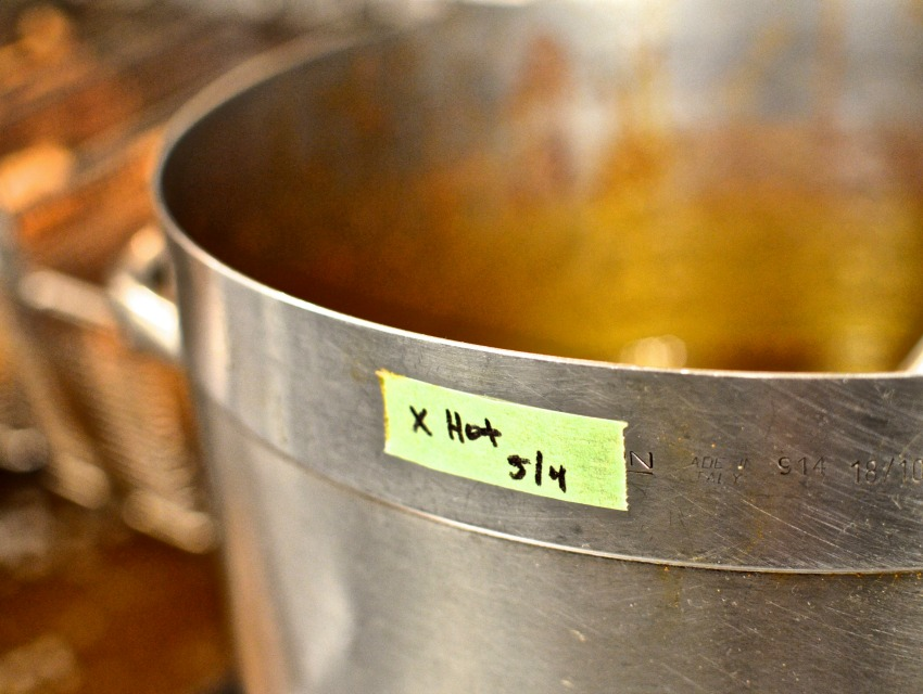 The recipes for all of Howlin' Ray's sauces are top secret