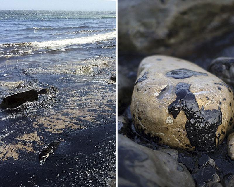 Oil Spill Near Santa Barbara
