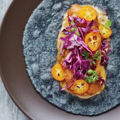 Taco María's fish taco
