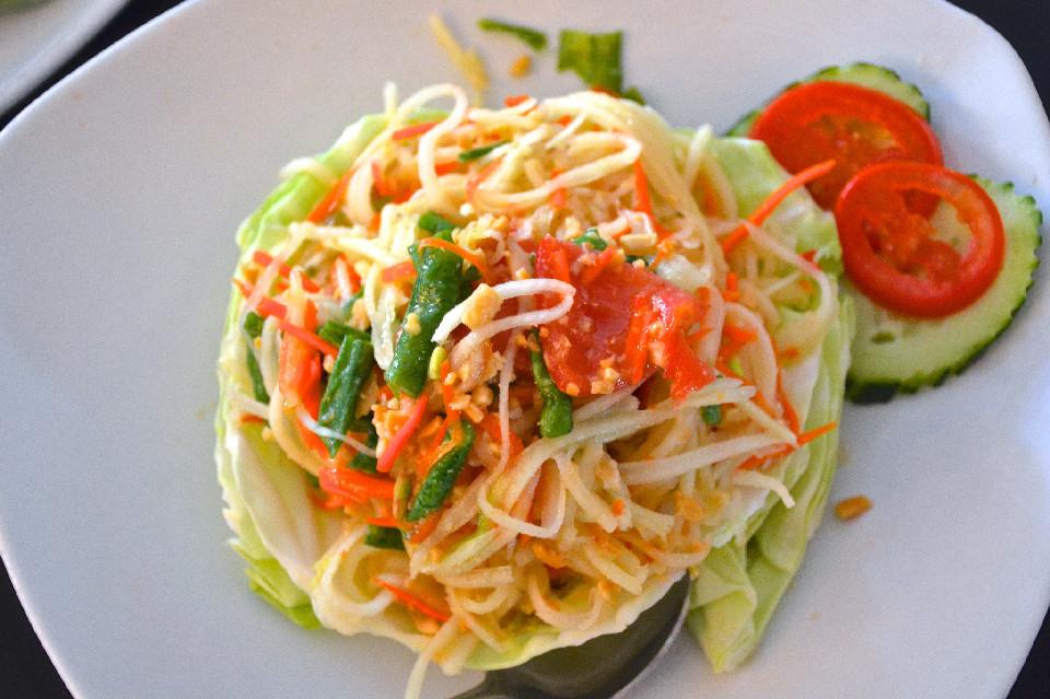 Araya Thai's Papaya Salad