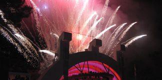Fireworks in L.A.
