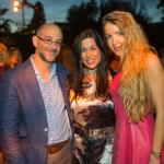 Eric Holtzman, Michelle Portugali, and Andriana Freisson