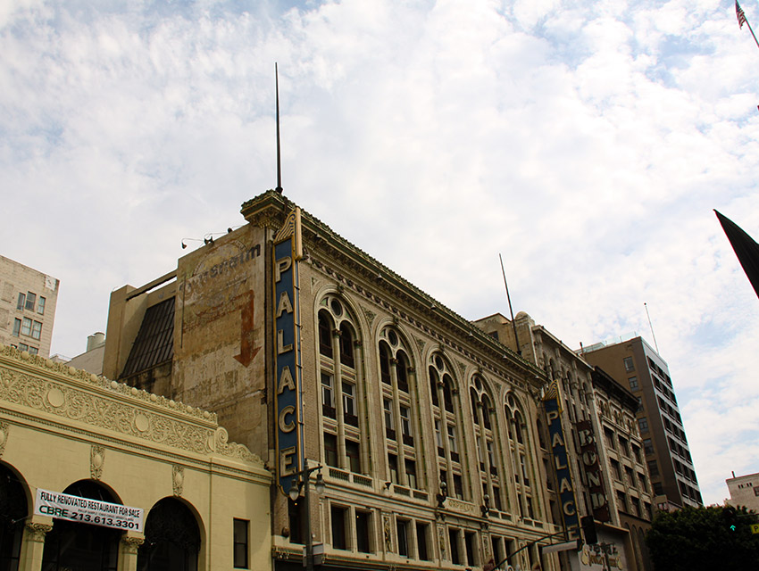 The Downtown Palace Theatre in July 2015