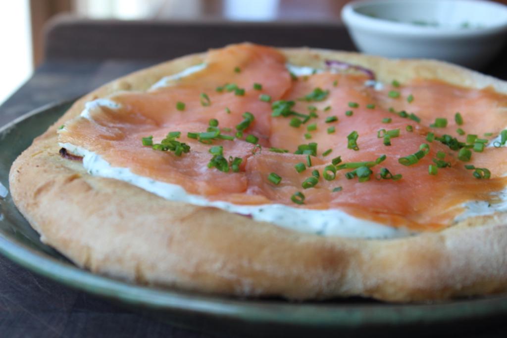 Dish Hack: Spago's Smoked Salmon Pizza