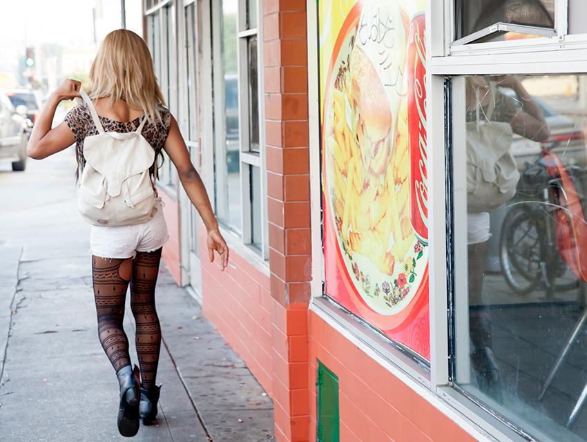 Kitana Kiki Rodriguez in Tangerine.