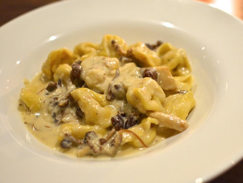 Seasonal Mushroom Tortellini