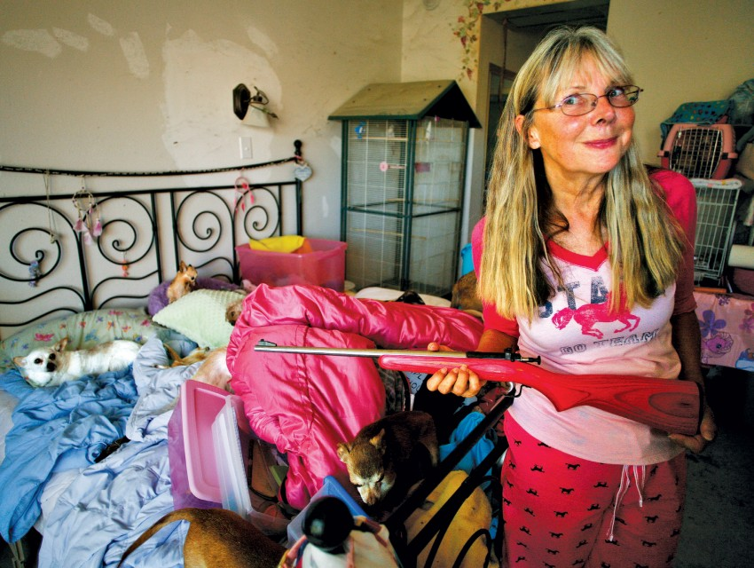 When Is a Rescuer a Hoarder? Los Angeles Magazine