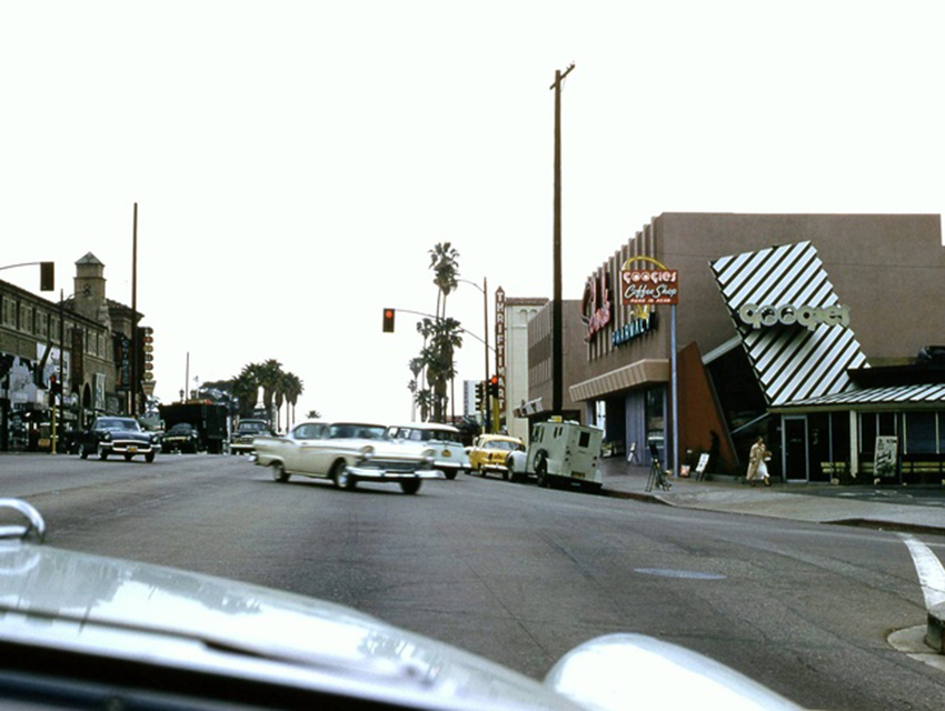 James Darren used to walk to meet his buddies at Googies and Schwab's on the Sunset Strip.
