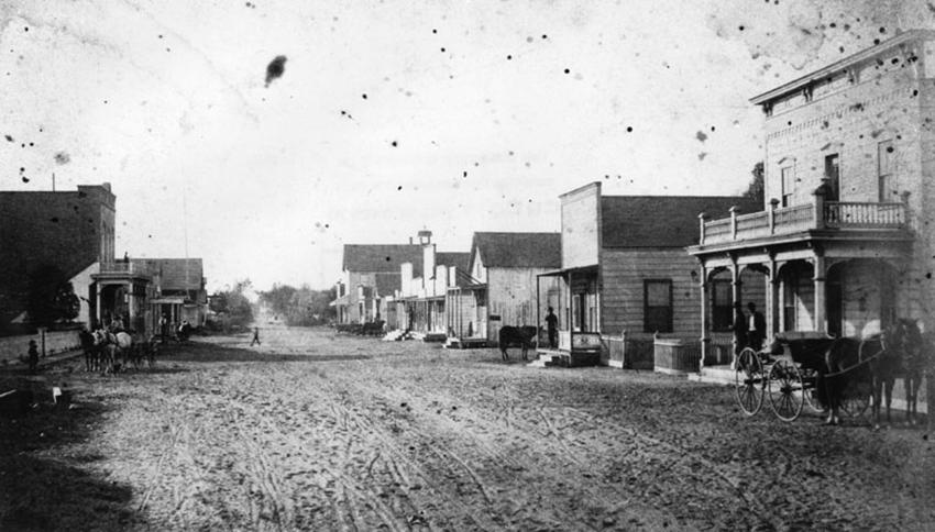 Compton Blvd. circa 1885-1890
