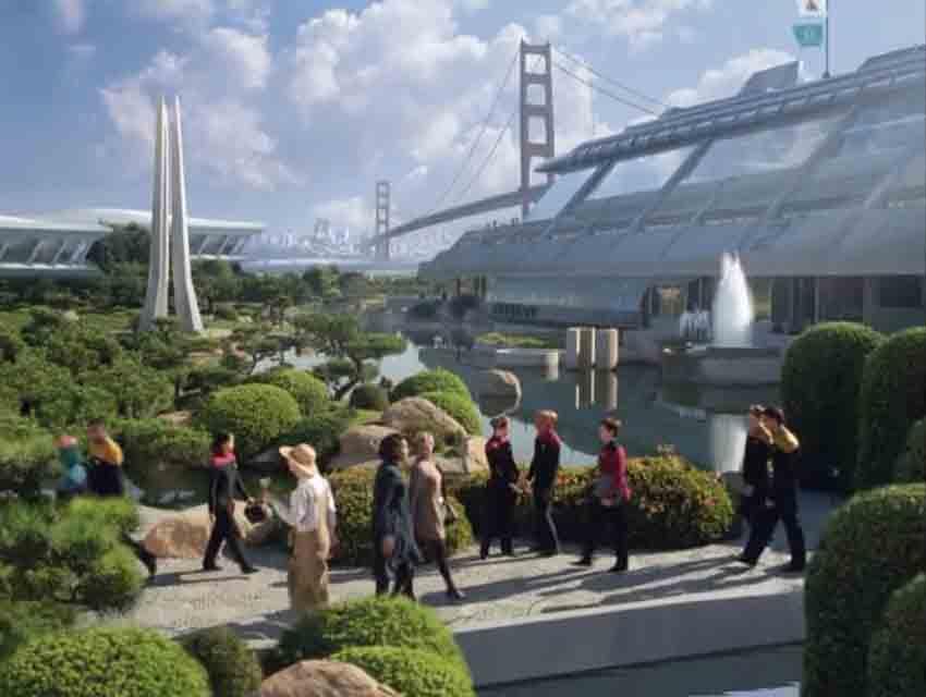 Scene It Before The Japanese Garden From Star Trek Los Angeles