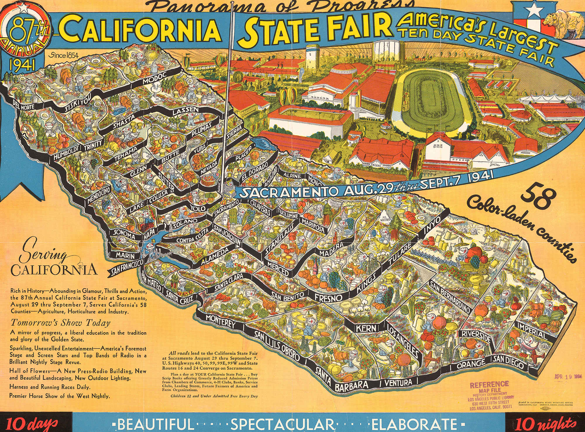 CityDig: This 1941 Map Shows Off the California State Fair's ... on