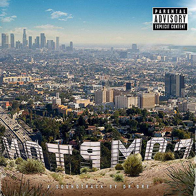 "The cover of ""Compton: A Soundtrack."""