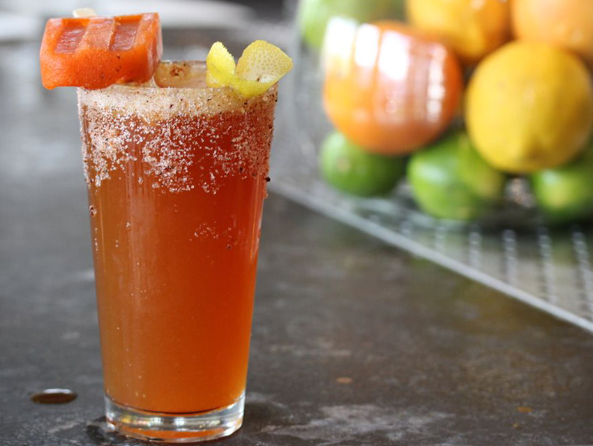 Cool down with this chilly (but spicy) Summer cocktail