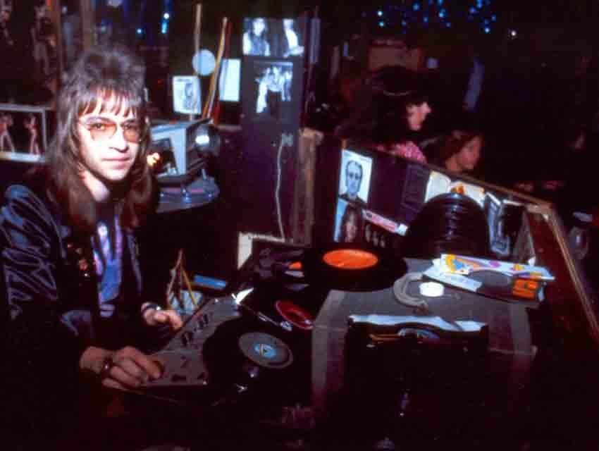 Rodney Bingenheimer at Rodney's English Disco