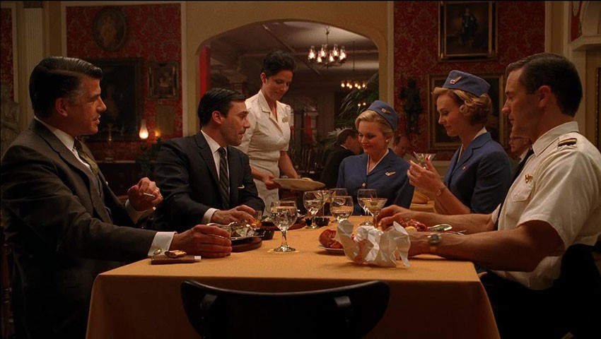 """A screen capture from """"Mad Men"""""""