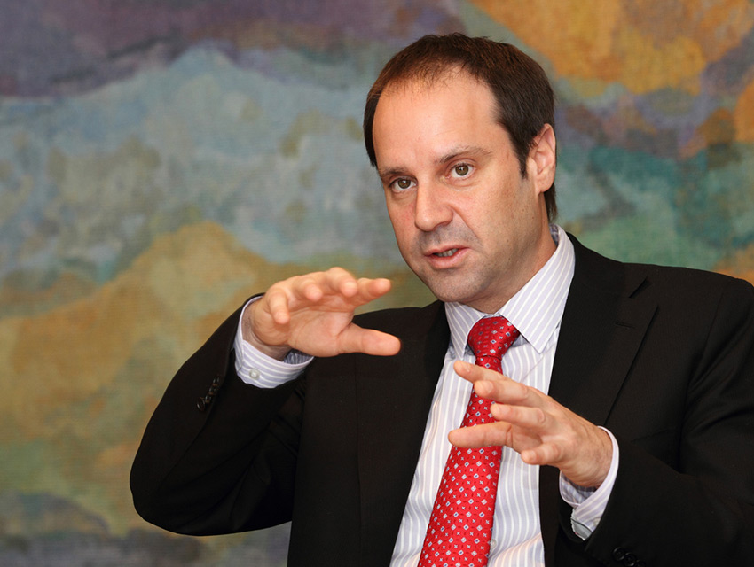 Jeffrey Skoll, the first president of eBay