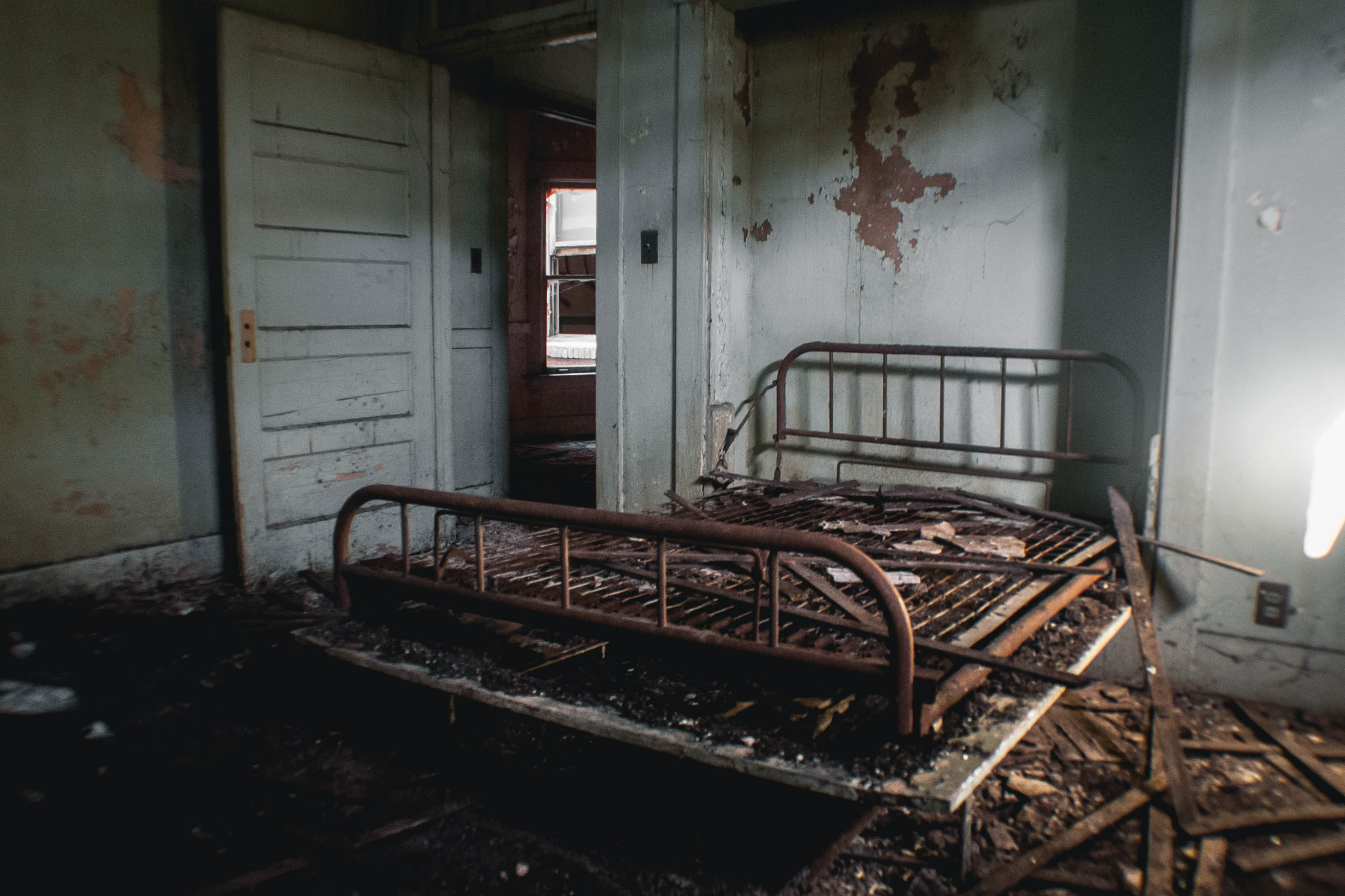 Take a Look Inside Downey's Creepy Abandoned Asylum