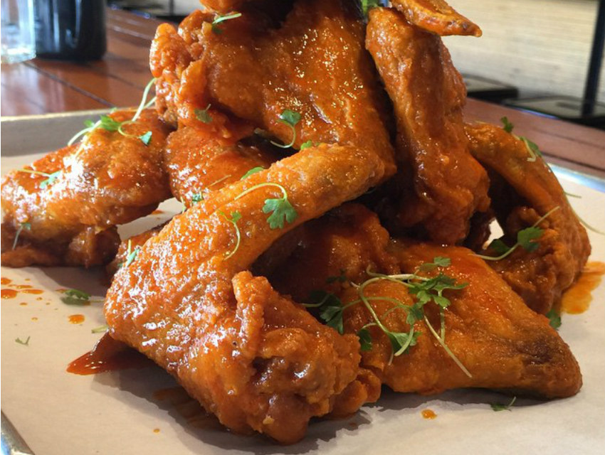 The double-cut wings from Plan Check
