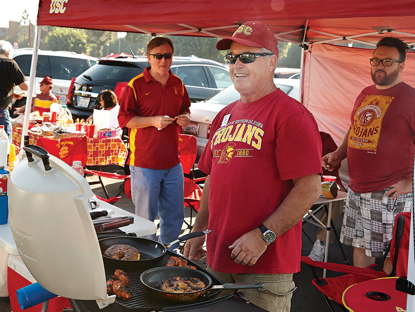 USC fans know how to get their party on
