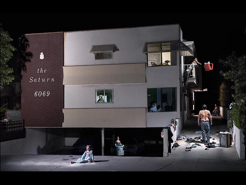 The Saturn (2007). Mid-City, Los Angeles.