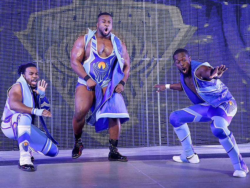 Xavier Woods, Big E Langston & Kofi Kingston bring a New Day to wrestling.
