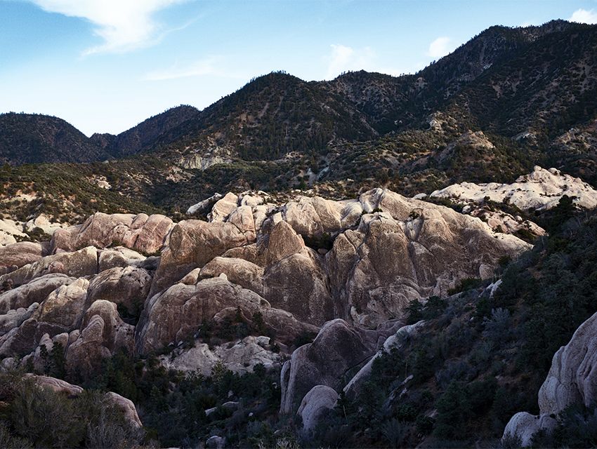 FAMILIAR TERRAIN: A portion of the Devil's Punchbowl, where Jon Aujay is said to have last been seen