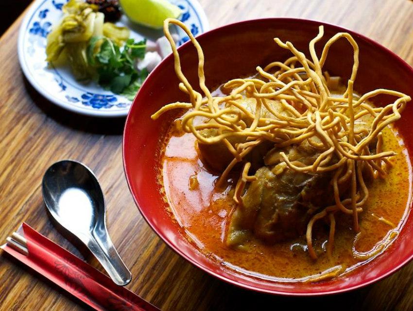 Squid khao soi from Pok Pok