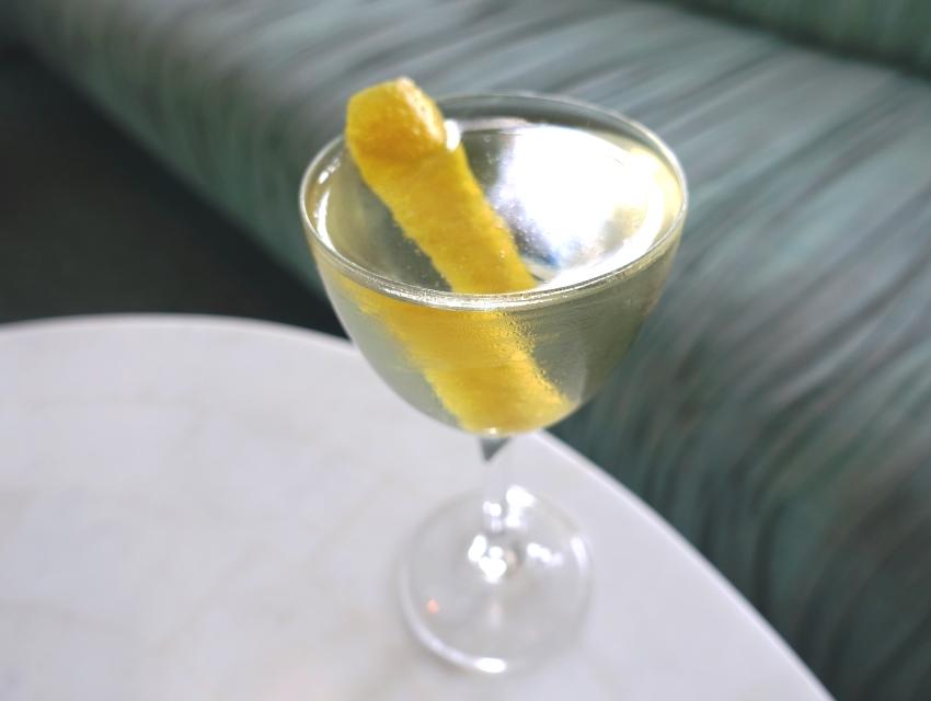 Vesper: Russian Standard vodka, Bombay Dry Gin, Cocchi Americano