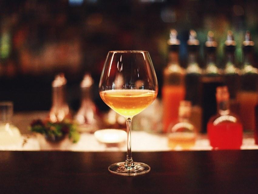 Walker Inn's Apple Wine Cocktail
