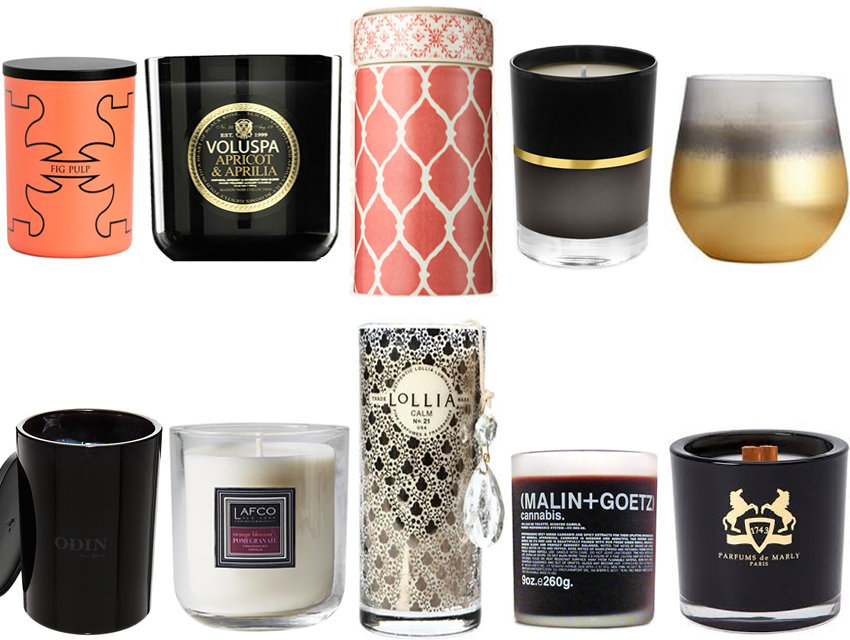 Smelling Candles