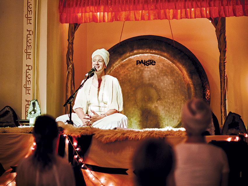In a Land of Spiritual Seekers, Kundalini Teacher Guru Jagat Is