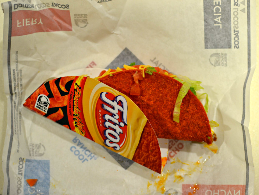 The new Fritos Locos Taco, the DLT sequel