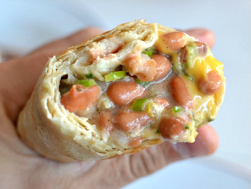 French Bean Burrito