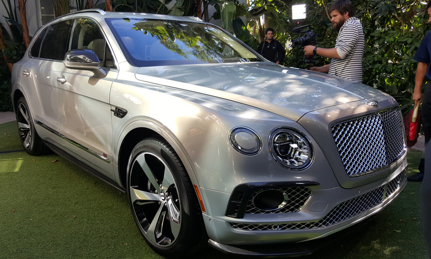 The MustSee Luxury Cars At The LA Auto Show Los Angeles Magazine - Show me a bentley car