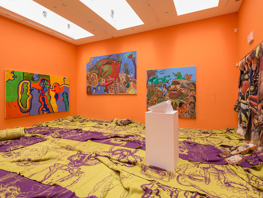 The Avant-Garde Won't Give Up: Cobra and Its Legacy Installation view, 2015 Blum & Poe, Los Angeles